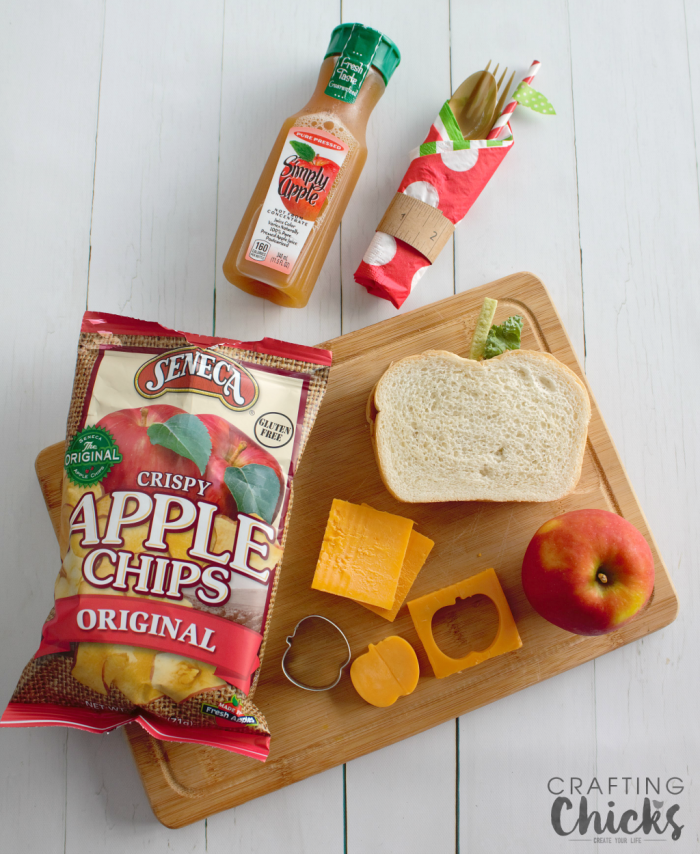 Celebrate the new school year with this easy fun Apple Themed Lunch!