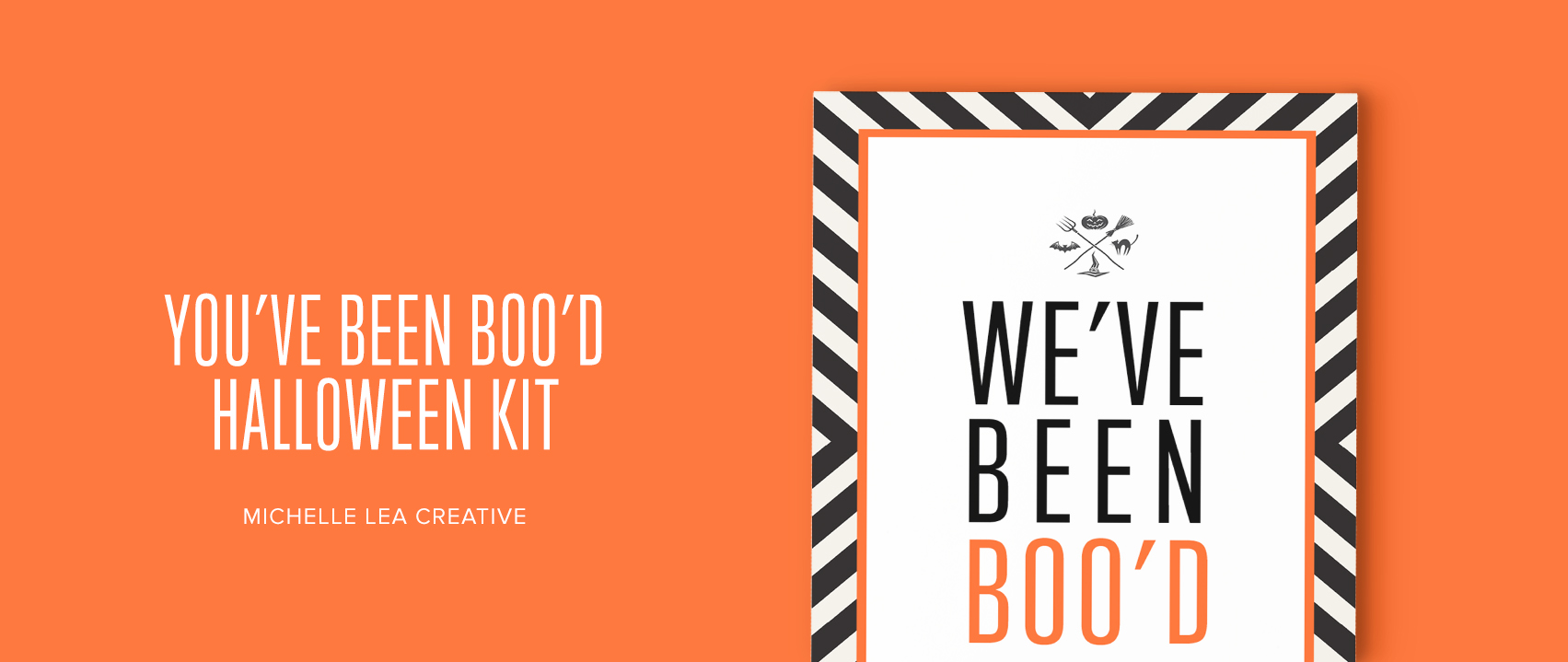 You've Been Boo'd Halloween Kit