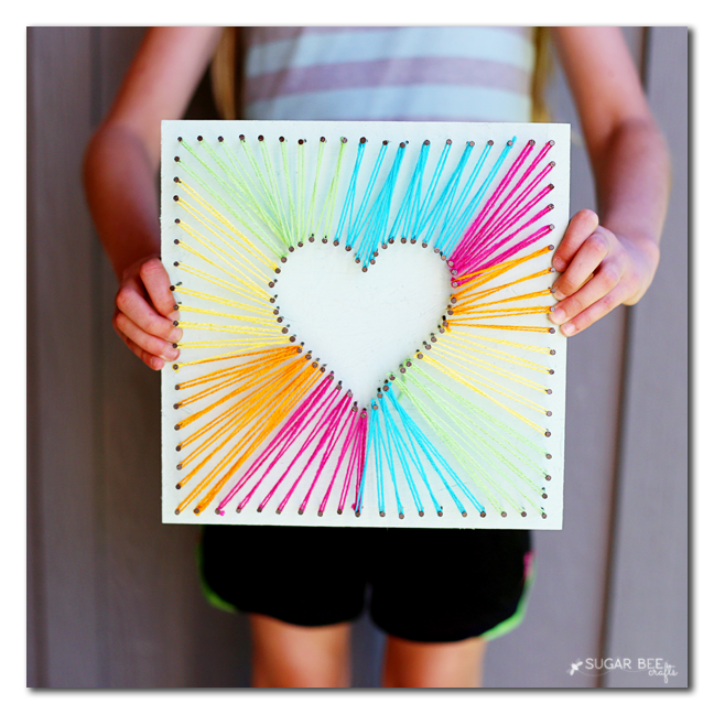 DIY Heart String Art | Tutorial