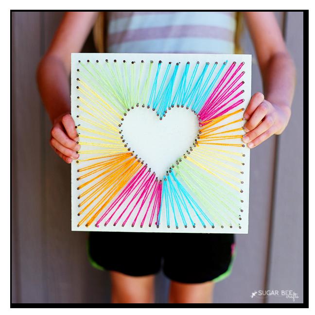 DIY Heart String Art | Tutorial