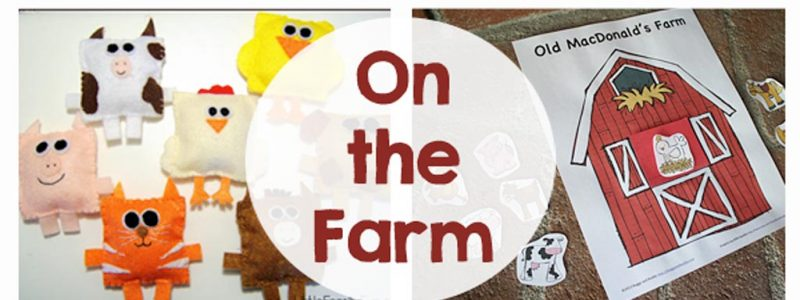 On the Farm - DIY crafts, activities, printables and games that your kids are going to love!