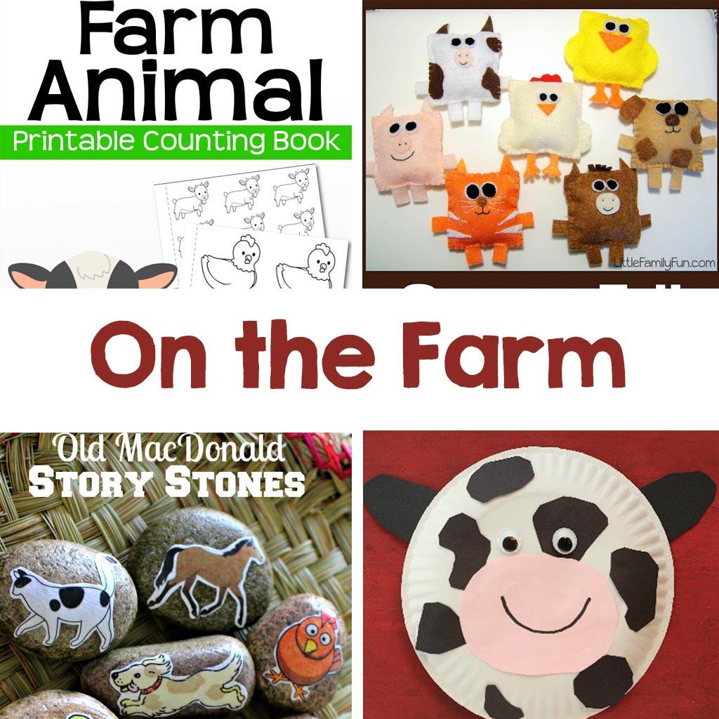 on the farm kids activities