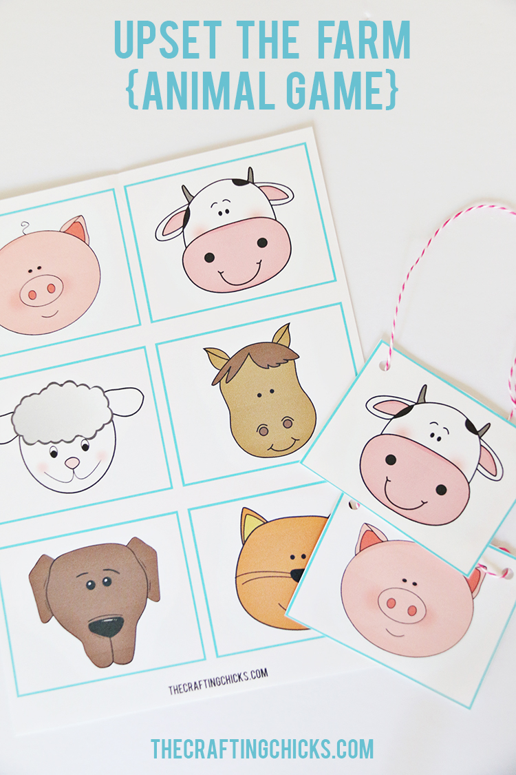 Farm Animal Family Game