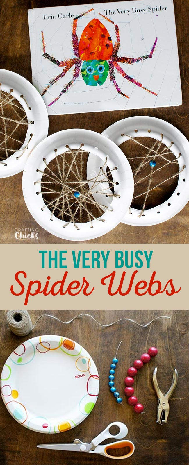 The Very Busy Spider Webs