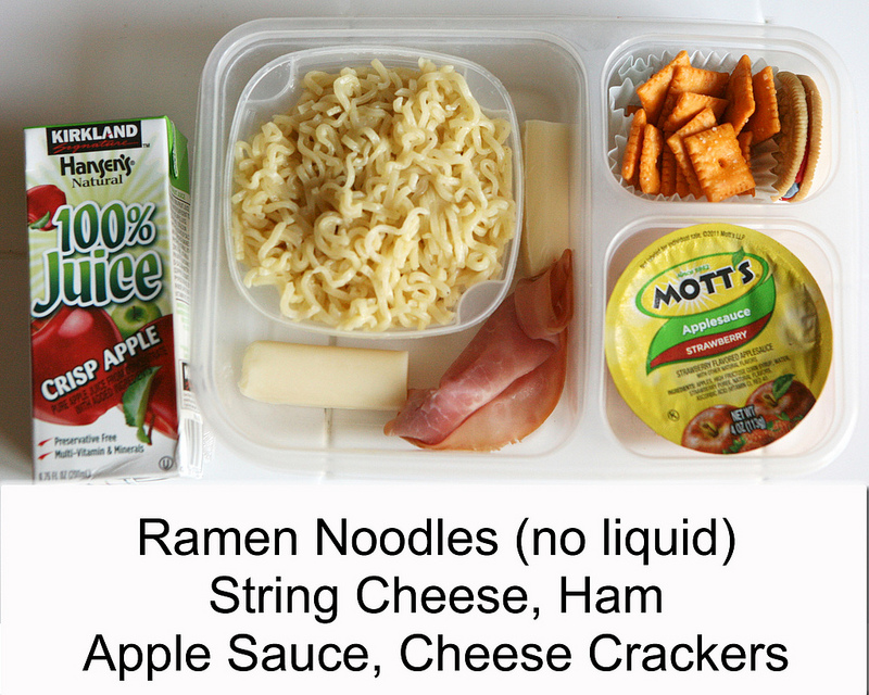 Non Sandwich School Lunch Ideas - So many great school lunch ideas in this post! Hot dogs, quesadillas, mini corn dogs, mac and cheese, taco salad... yum!