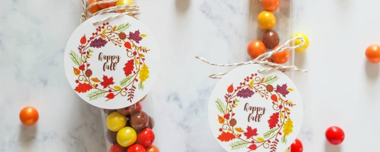 Free Printable Happy Fall Tag