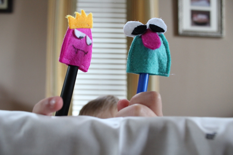 Pencil Topper Puppets