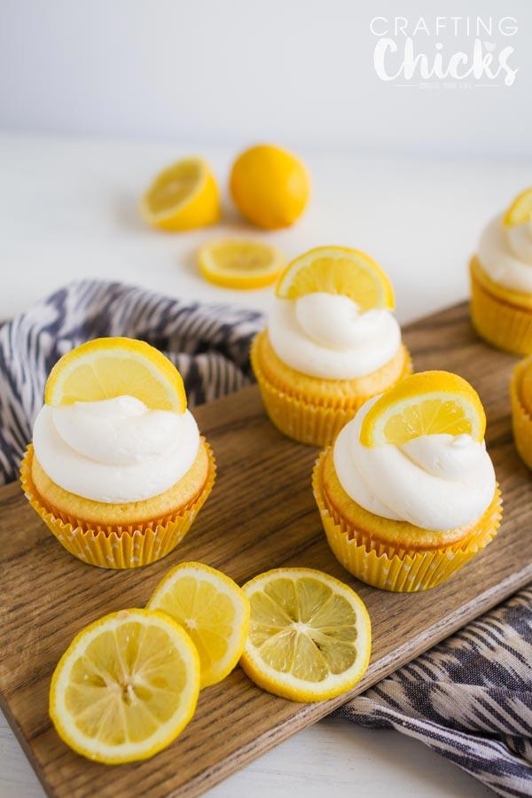 Lemon Cream Cheese Cupcakes