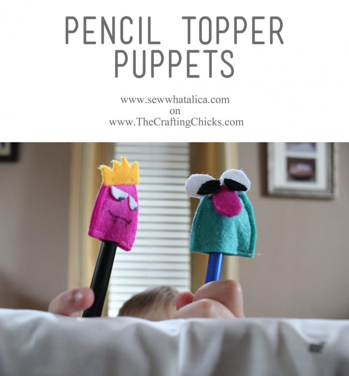 Pencil-Topper-Puppets