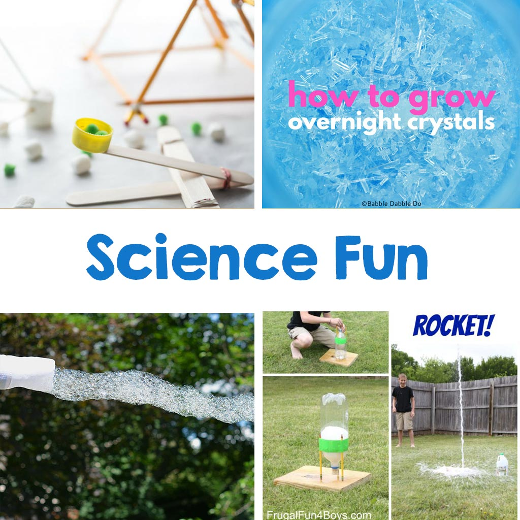 science fun experiments