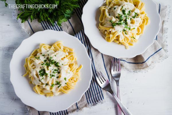 Yummy Fettuccini Alfredo