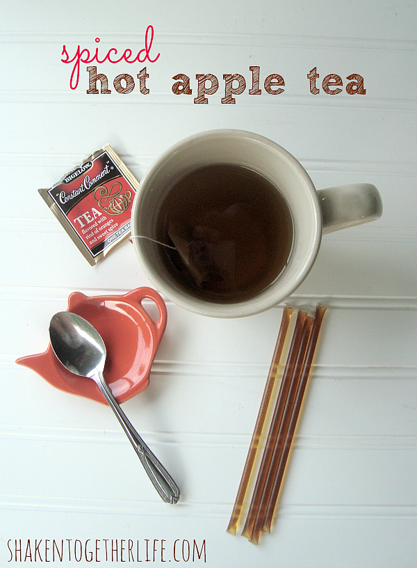 Spiced Hot Apple Tea at Shaken Together