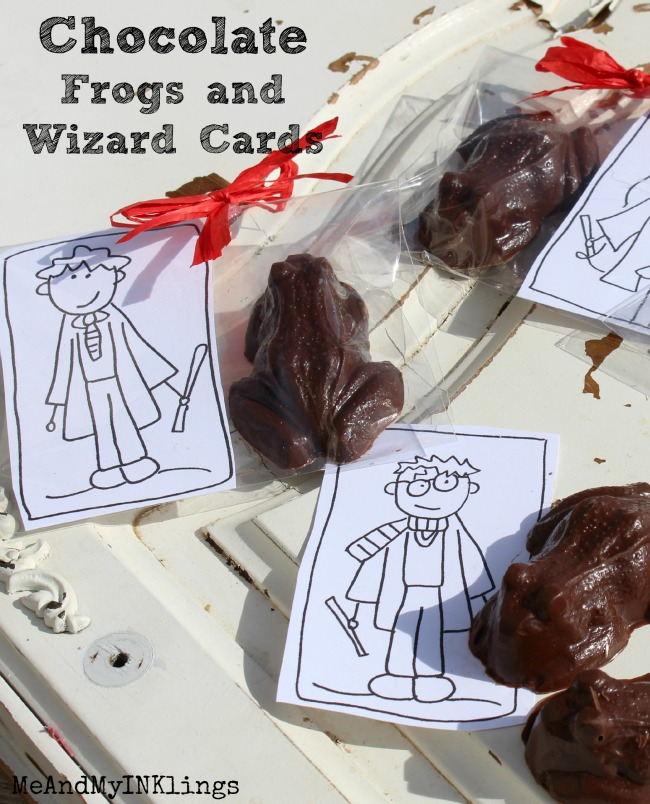 DIY Chocolate Frogs - Honeydukes Candy