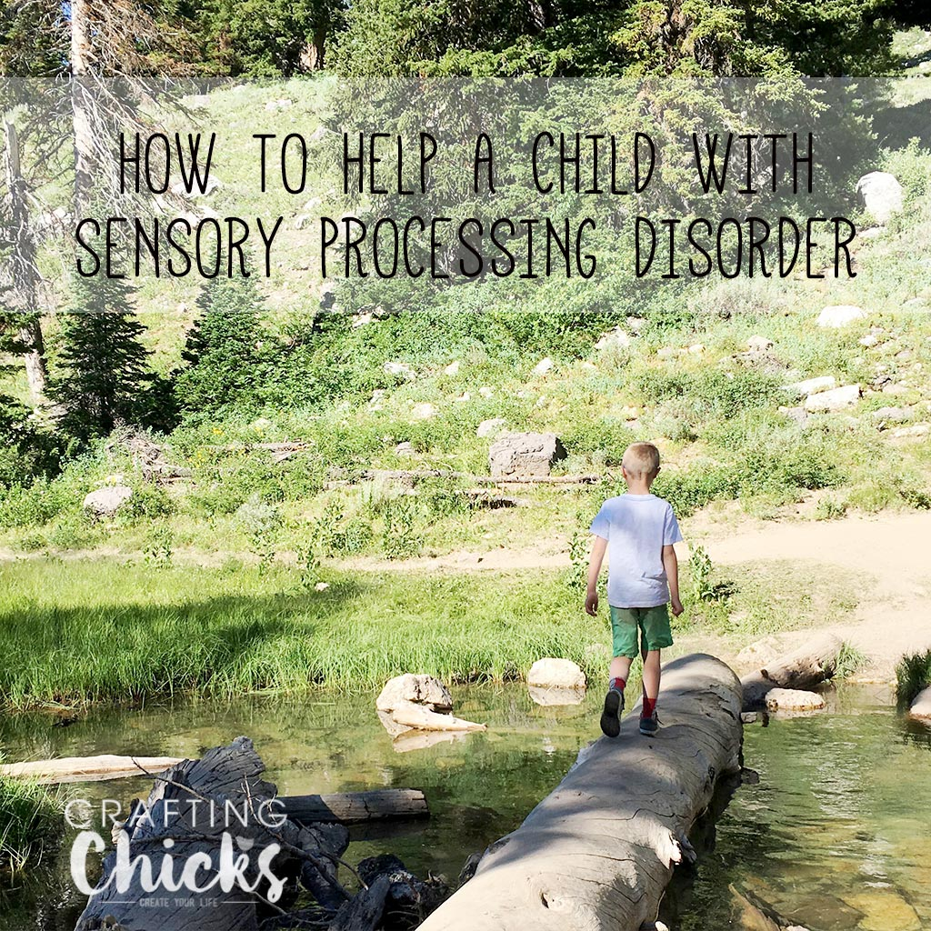 how to help a child with sensory processing disorder