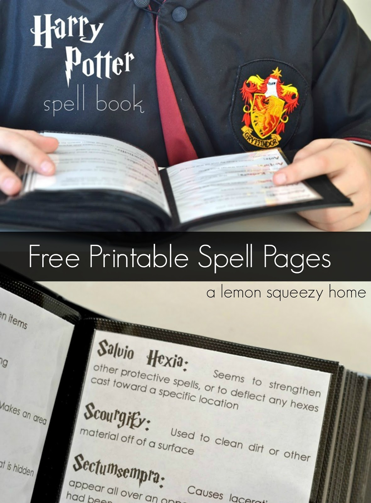 Harry Potter Crafts - Printables, Potions, Butterbeer, Chocolate Frogs, Banners, Bookmarks, Sorting Hat, games and DIY Wands