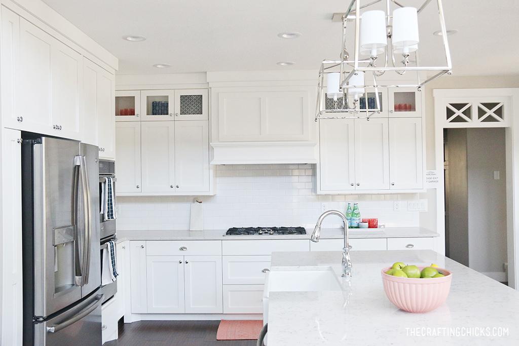 white kitchen design the crafting chicks