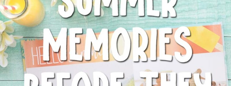 Summer Memories Mixbook Giveaway