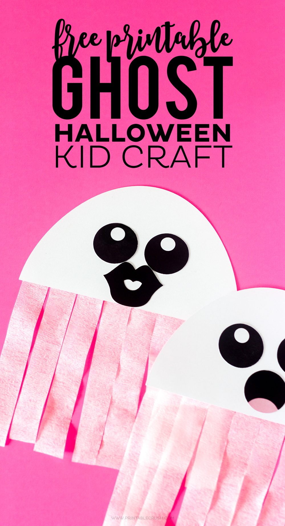 Sweet image regarding halloween crafts printable