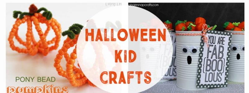 Halloween Kid Crafts