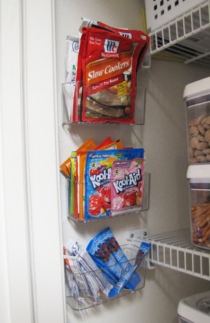 Pantry Organization - storage ideas, printable labels, baskets, and racks... everything you need to keep your pantry organized!