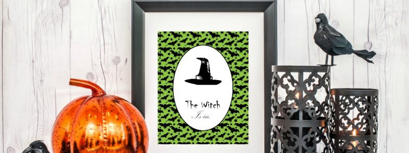 Witchy Party Printables