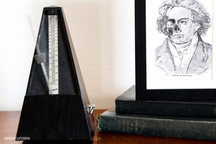 Zombie Beethoven Halloween Art Print
