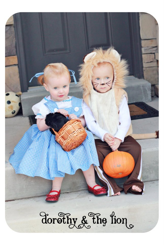 Boy Girl Twin Costume Idea Cowgirl and Cowboy The