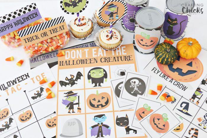 Halloween Mega Printable Pack