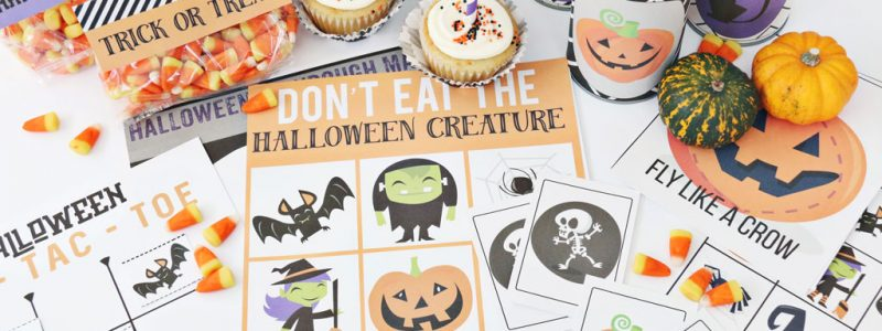 Halloween Mega Printable Pack