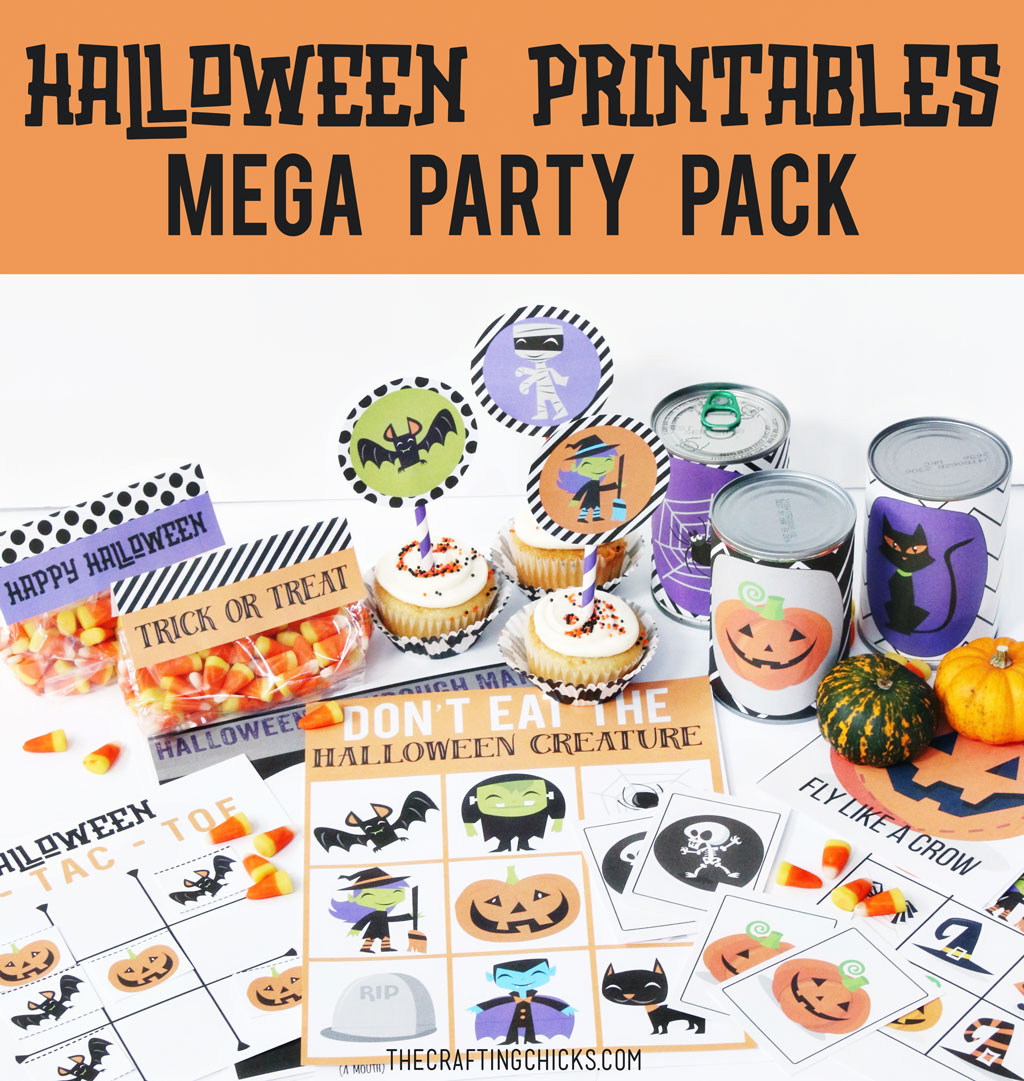 Halloween Printable Mega Party Pack