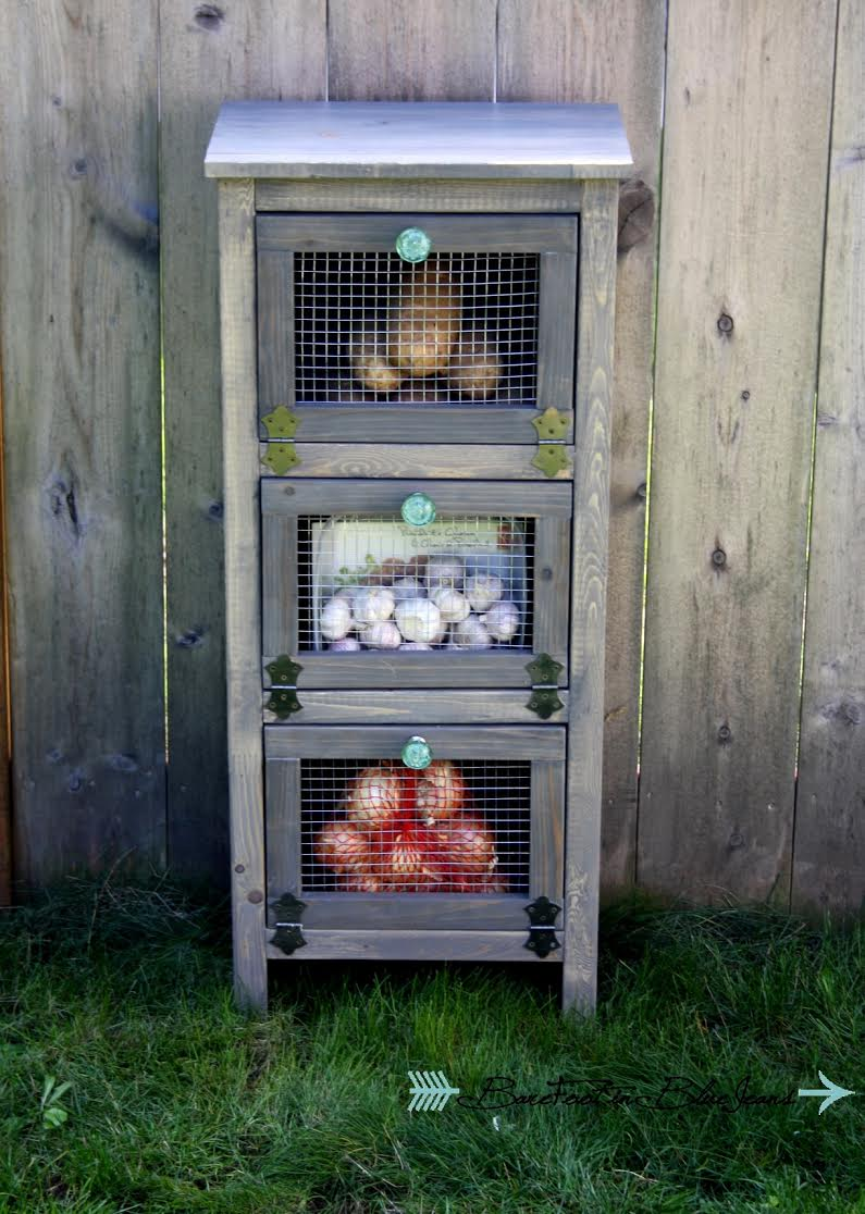 DIY Vegetable Storage