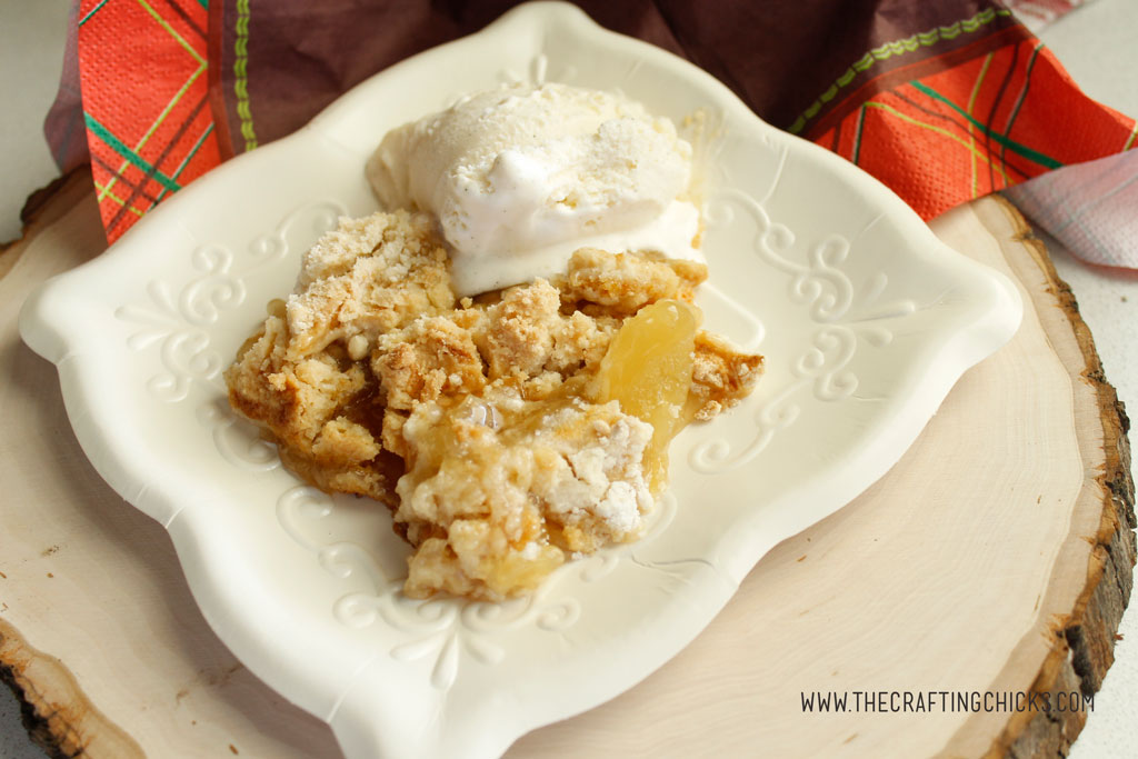 Delicious Apple Cobbler