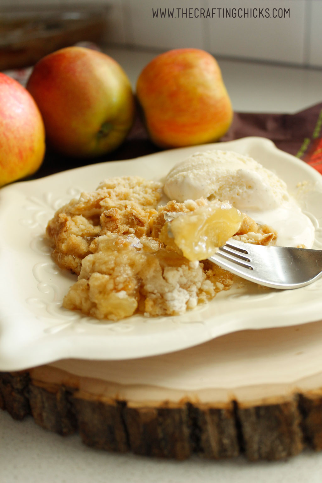 Delicious Apple Cobbler Dessert