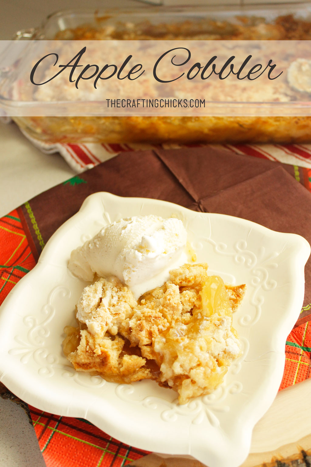 Yummy Apple Cobbler Recipe   Family Favorite Dessert