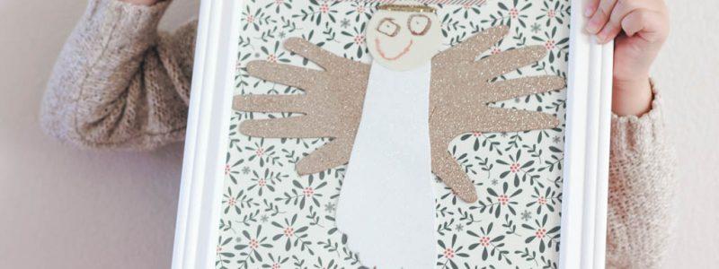 Christmas Angel Kid's Craft