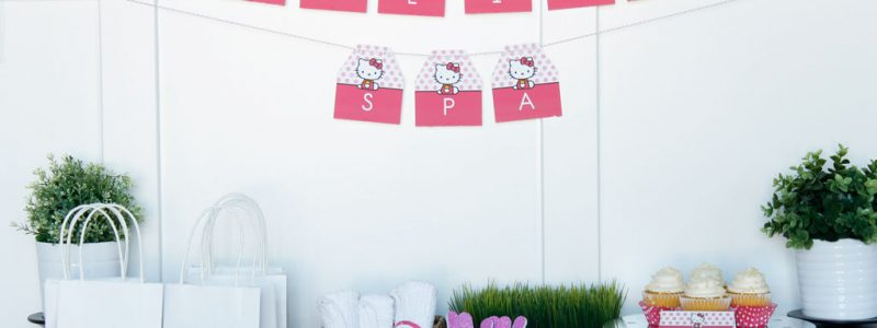 Hello Kitty Spa Party