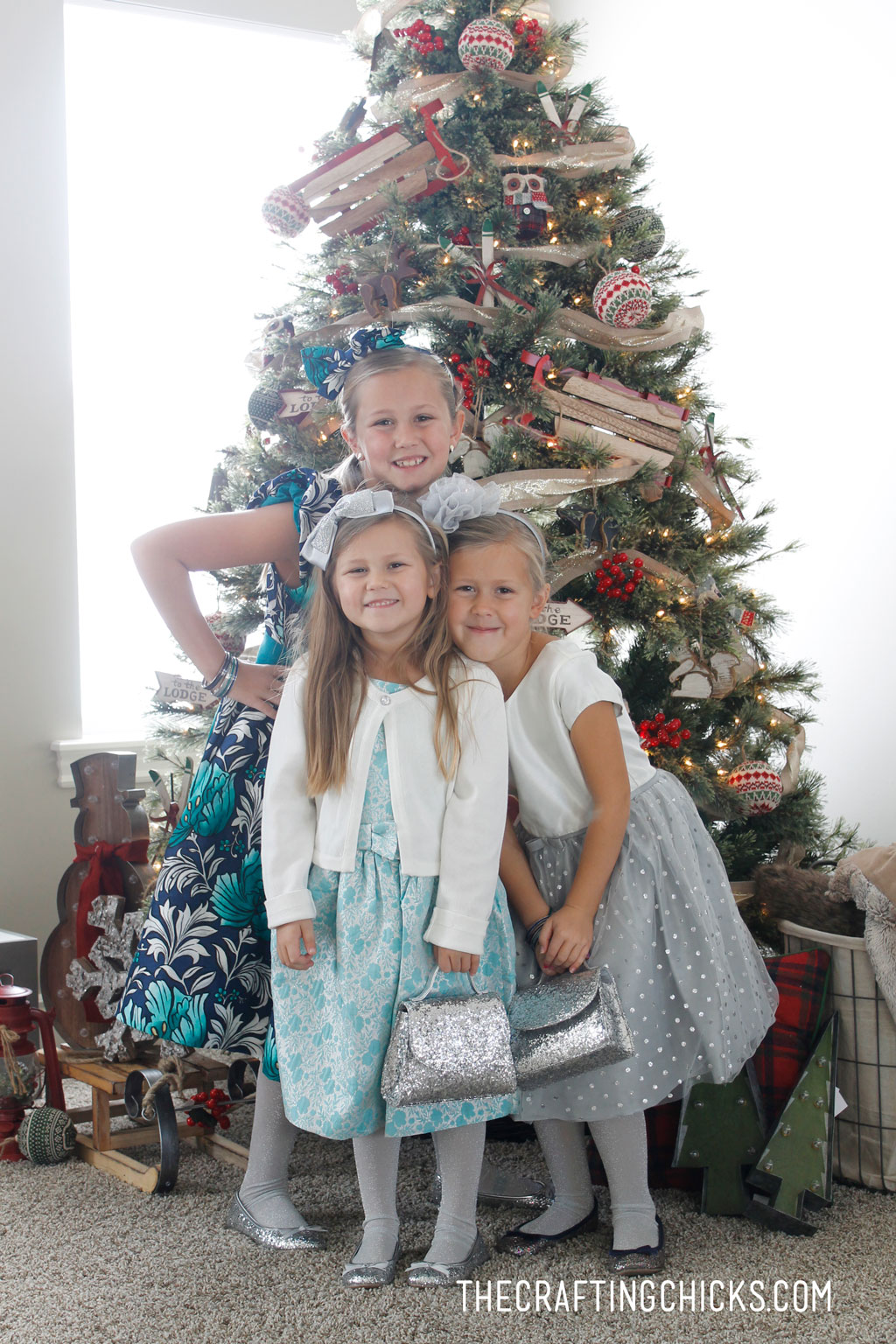 Festive Family Gymboree Dresses
