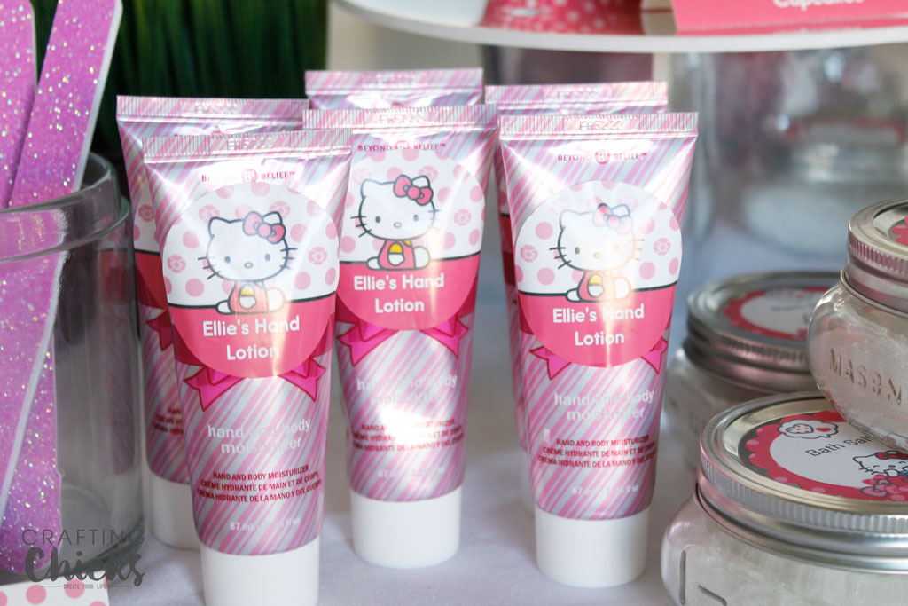 Hello Kitty Spa Party hand lotion