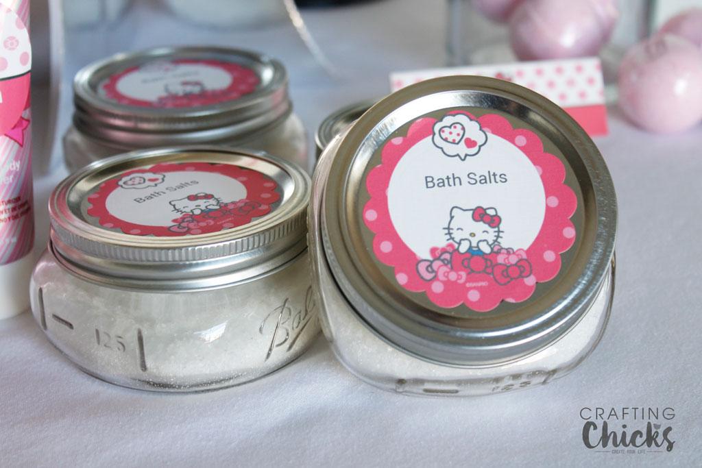 Hello Kitty Spa Party Bath Salts
