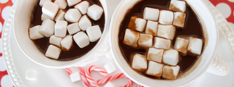 Easy Peppermint Hot Chocolate