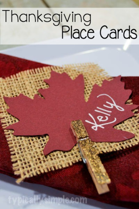 Diy Thanksgiving Tablescapes The Crafting Chicks