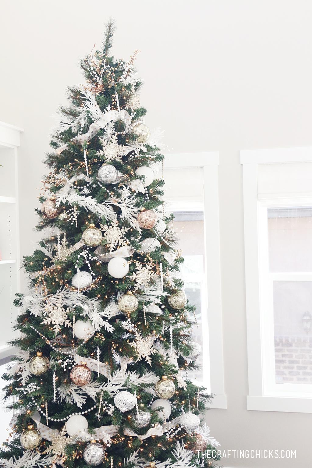 Gold And Black Christmas Tree