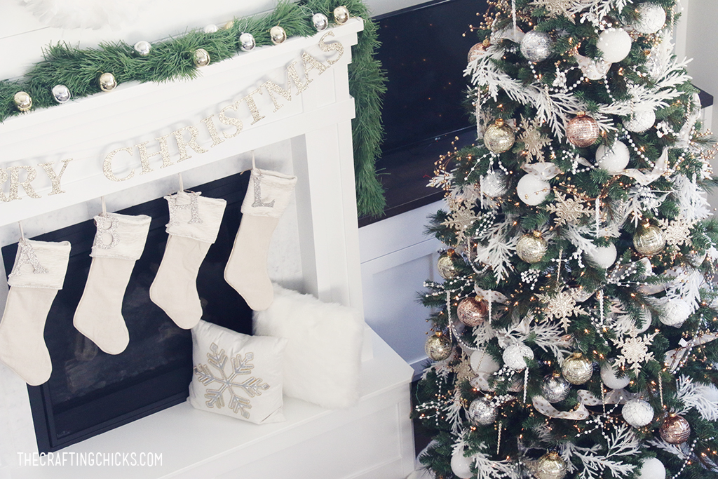 DIY White & Gold Michaels Makers Dream Tree | Christmas Decor | Home Decor
