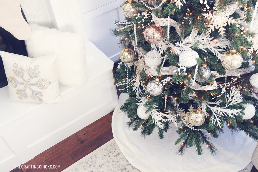 White & Gold Michaels Makers Dream Tree | The Crafting Chicks ...