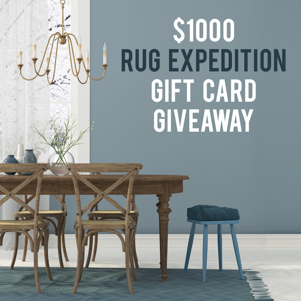 Rug Expedition $1000 Rug Giveaway