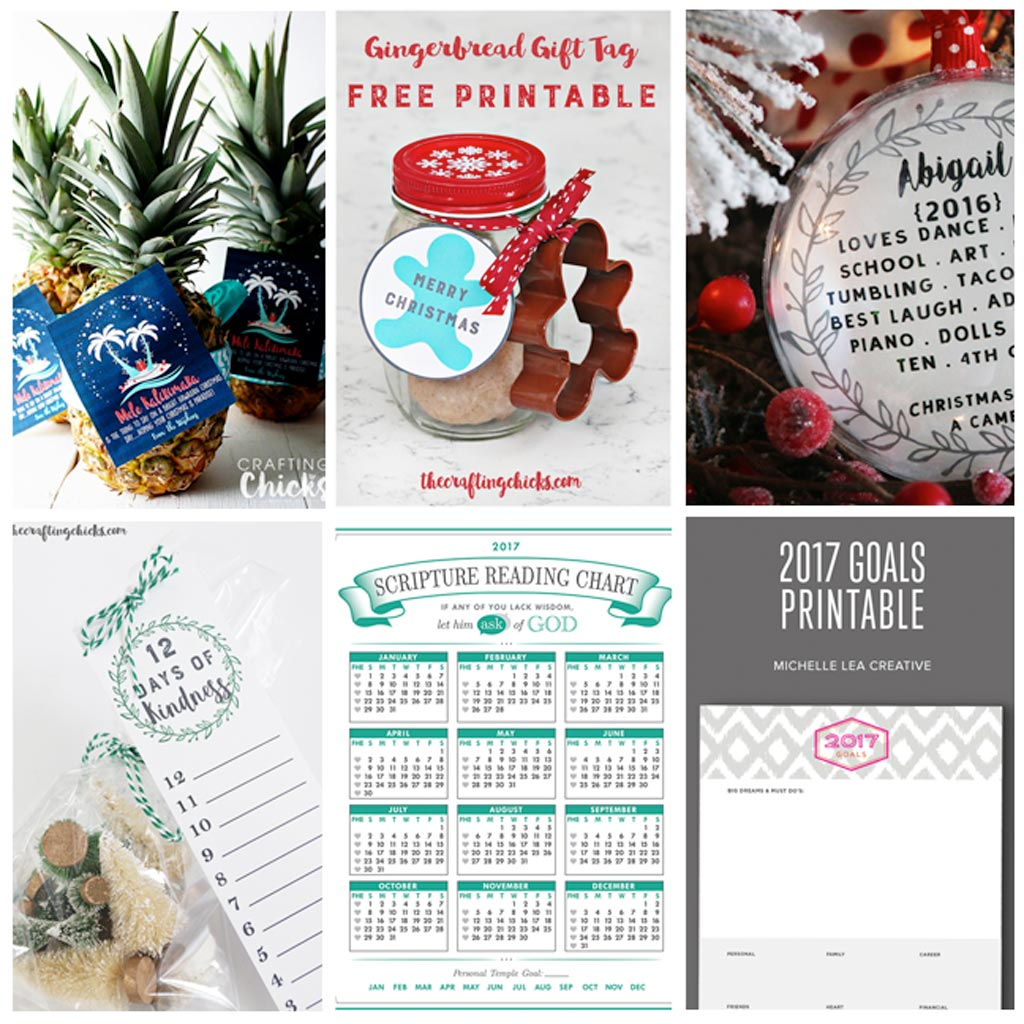 A Year of Printables - Valentines, Easter, St. Patrick's Day, Mother's and Father's Day, Teacher Gift, Halloween, Christmas... printables for all year!