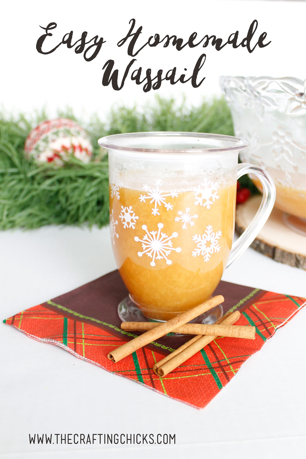 This Easy Homemade Wassail recipe is almost too good to be true. You won't believe how delicious it is, and yet so simple to make.