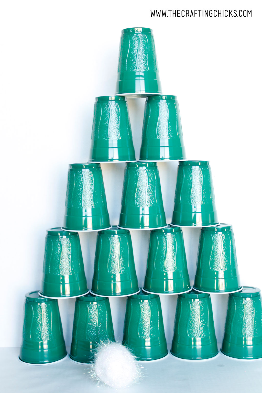 stacking cups christmas tree game the crafting chicks