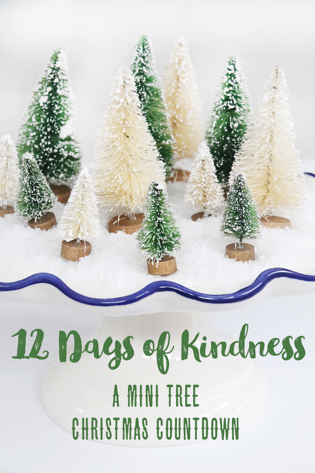 12 Days of Kindness Printable - A Christmas Countdown - A fun way to add family service to your Christmas celebration!