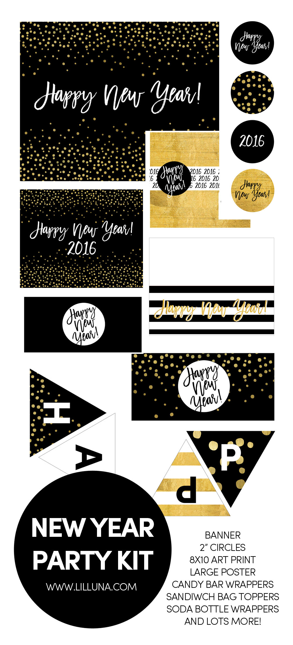 new year u0027s printables the crafting